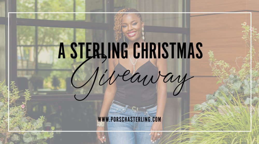 A Sterling Christmas Giveaway