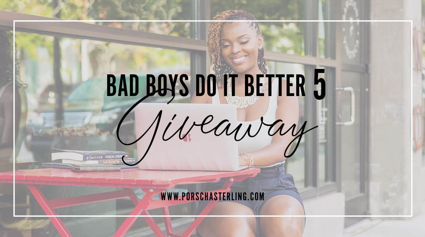 Bad Boys Do It Better 5 Paperback Giveaway