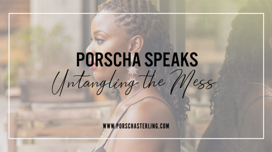 Blog post image: Porscha Speaks